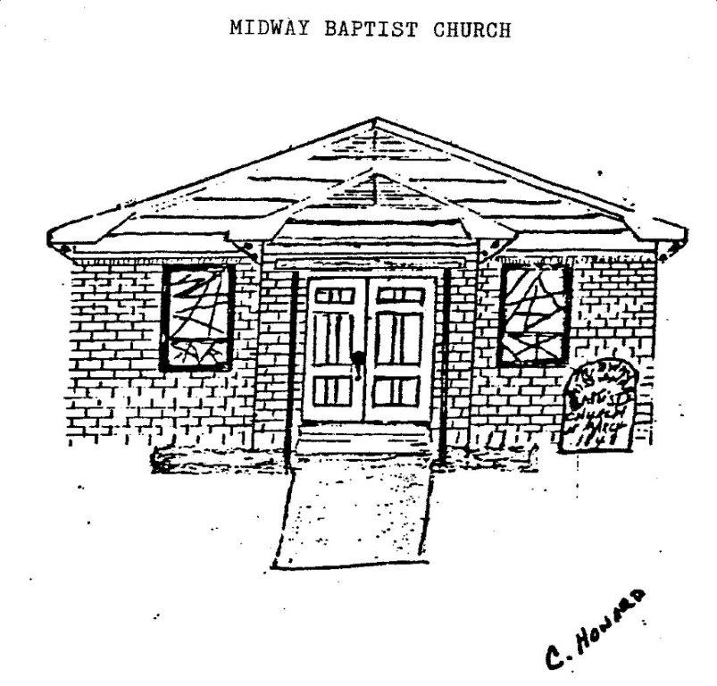 Midway Church Sketch Early 20s