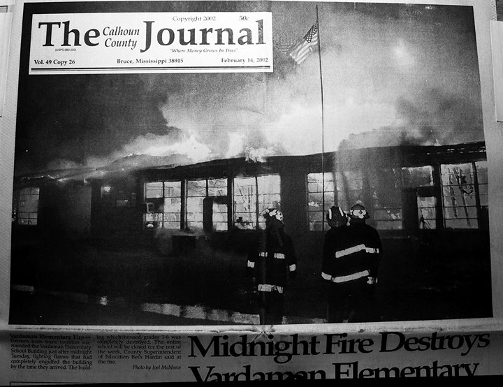 Elementary School Burns in 2002